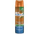 Gillette Fusion ProGlide zvlhčující gel na holení pro muže 200 ml