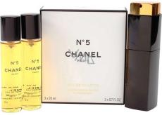 Chanel No.5 toaletná voda komplet pre ženy 3 x 20 ml