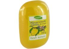 Kappus Čerstvý citron glycerinové toaletní mýdlo s rostlinným olejem 100 g