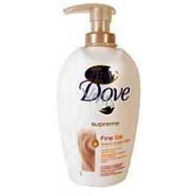 Dove Silk tekuté mýdlo s dávkovačem 250 ml