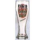 Nekupto Smích pivní sklenice humorné WH 001 Pivo není jen pití, je to láska na celý život 0,6 l