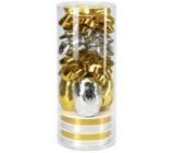 Ditipo Set k balení dárků zlato-stříbrný 2811900