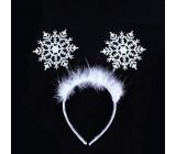 Čelenka snehová vločka