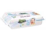 Pure Soft Touch vlhčené obrúsky pre deti s klipom 120 kusov