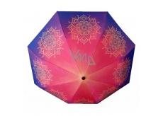 Albi Original Dáždnik skladací Mandala 25 cm x 6 cm x 5 cm