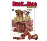 Magnum Kačica a ryža mäkká, prírodná mäsová pochúťka pre psov 250 g