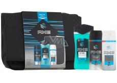 Axe Ice Chill sprchový gél pre mužov 250 ml + dezodorant sprej pre mužov 150 ml + antiperspirant dezodorant sprej pre mužov 150 ml + batoh, kozmetická sada