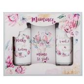 Bohemia Gifts & Cosmetics Mamička sprchový gél 100 ml + šampón 100 ml + soľ do kúpeľa 110 g, kozmetická sada