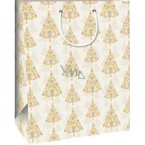 Ditipo Darčeková papierová taška 32,4 x 10,2 x 44,5 cm stromček