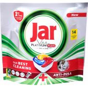 Jar Platinum Plus kapsule do umývačky riadu 14 kusov