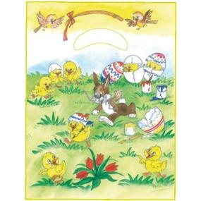 Anjel Igelitová taška 36 x 27,5 x 4 cm Zajačikovia a kuriatka