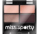 Miss Sporty Studio Colour Quattro očné tiene 408 Smoky Rose 3,2 g