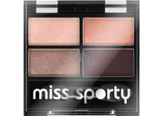 Miss Sporty Studio Colour Quattro Eye Shadow oční stíny 408 Smoky Rose 3,2 g