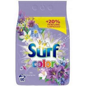 Surf Color Iris & Spring Rose prášok na pranie farebnej bielizne 60 dávok 3,9 kg