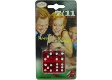 Hm Studio Hrací kocky hra 7/11 - žartovný predmet 4 kusy
