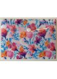Albi Pouzdro na dokumenty Akvarelové květy B6 - 17 x 12,5 cm