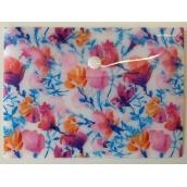 Albi Puzdro na dokumenty Akvarelové kvety B6 -125 × 176 mm