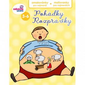 Ditipo Omaľovánky pre najmenších Rozprávky pre deti 3-6 rokov 16 strán