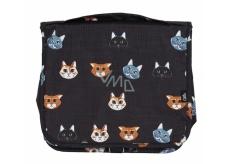Albi Original Cestovná závesná kozmetická taška Mačka 24 x 19 x 8 cm