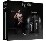 Str8 Rise parfumovaný deodorant sklo pre mužov 75 ml + sprchový gél 250 ml, kozmetická sada