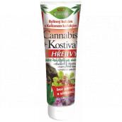 Bion Cosmetics Cannabis + Kostihoj Hrejivý bylinný balzam s gaštanmi konským 200 ml