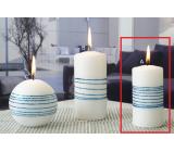 Lima Exclusive sviečka modrá valec 50 x 100 mm 1 kus