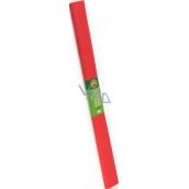 Koh-i-Noor Krepový papier 50 x 200 cm, biely svetlo červený