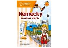 Albi Kúzelné čítanie interaktívne hovoriace kniha Nemecký obrázkový slovník