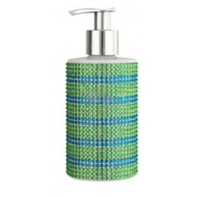Vivian Gray Diamond Sundown Green / Blue luxusné tekuté mydlo s dávkovačom 250 ml