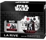 La Rive Disney Star Wars First Order toaletná voda 50 ml + 2v1 sprchový gél a šampón 250 ml, kozmetická sada