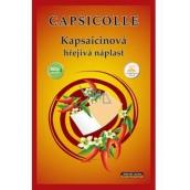 Capsicolle Kapsaicinová hrejivá náplasť 7 x 10 cm 1 kus
