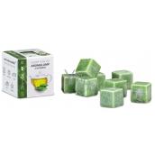 Kozák Zelený čaj prírodný voňavý vosk do aromalámp a interiérov 8 kociek 30 g