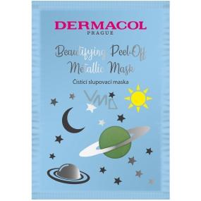 Dermacol Cleansing Peel-Off čistiaca zlupovacia pleťová maska 15 ml