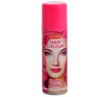 Zo zmývateľné farebný lak na vlasy Ružový 125 ml sprej
