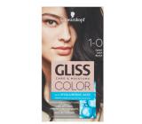 Schwarzkopf Gliss Color farba na vlasy 1-0 Čierny 2 x 60 ml