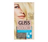 Schwarzkopf Gliss Color farba na vlasy 10-2 Prirodzená chladná blond 2 x 60 ml