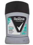 Rexona Men Stay Fresh Marine tuhý antiperspirant dezodorant stick s 48-hodinovým účinkom pre mužov 50 ml
