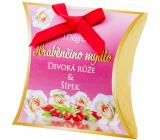 Moje Hraběnčino mydlo Divoká ruža a šípok luxusné darčekové mydlo 50 g 1 kus