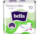 Bella Perfecta Slim Green ultratenké hygienické vložky s krídelkami 10 kusov