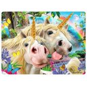 Prime3D pohľadnice - Jednorožec Selfie 16 x 12 cm