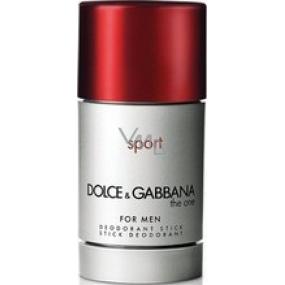 Dolce & Gabbana The One Sport deodorant stick pre mužov 20 g