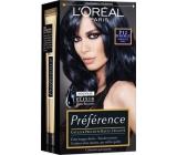 Loreal Paris Préférence Féria barva na vlasy P12 Intenzivní černomodrá
