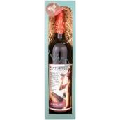 Bohemia Gifts Merlot Partnerka pre večer červené darčekové víno 750 ml