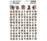 Arch Školní mini samolepky indiáni 179