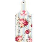 Bohemia Dekorativní prkénko Rose Love s originálním potiskem 28 x 12 cm