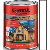 Colorlak Univerzal SU2013 syntetická lesklá vrchní barva Bílá 0,6 l