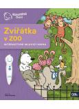 Albi Kúzelné čítanie interaktívne hovoriace kniha Zvieratká v ZOO, vek 2+