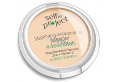 Selfie Project zmatňujúci antibakteriálne. púder 4 ever matt 9 g 0125