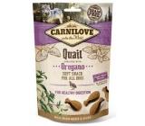Carnilove Dog Prepelica s oreganom lahodný chrumkavý maškrta pre všetkých psov pre zdravé trávenie 200 g