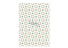 Ditipo Baliaci papier biely hviezdičky 100 x 70 cm 2 kusy